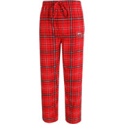 Concepts Sport Men's Western Kentucky Hilltoppers Red/Grey Ultimate Plaid Sleep Pants