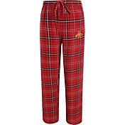 Concepts Sport Men's Iowa State Cyclones Cardinal/Gold Ultimate Plaid Sleep Pants