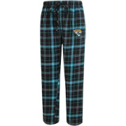 Concepts Sport Men's Jacksonville Jaguars Ultimate Flannel Black Pants