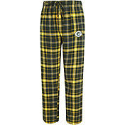 Concepts Sport Men's Green Bay Packers Ultimate Flannel Green Pants