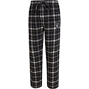 Concepts Sport Men's Oakland Raiders Ultimate Flannel Black Pants