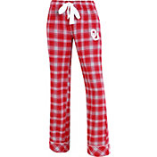 Concepts Sport Women's Oklahoma Sooners Crimson/Grey Captivate Plaid Sleep Pants