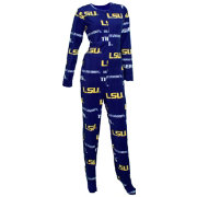 Concepts Sport Women's LSU Tigers Purple Union Suit