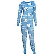 Concepts Sport Women's North Carolina Tar Heels Carolina Blue Onesie