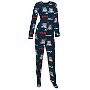 Concepts Sport Women's Arizona Wildcats Navy Onesie