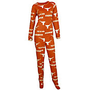 Concepts Sport Women's Texas Longhorns Burnt Orange Onesie