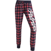 Concepts Sports Women's New England Patriots Navy/Red Flannel Jogger Pants