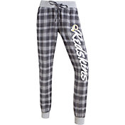 Concepts Sports Women's Washington Redskins Red/Yellow Flannel Jogger Pants
