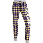 Concepts Sports Women's Minnesota Vikings Purple/Yellow Flannel Jogger Pants