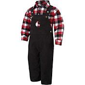 Carhartt Infant Boys' Flannel Lumberjack Overall Set