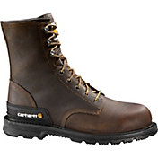 "Carhartt Men's Unlined 8"" Safety Toe Work Boots"