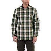 Carhartt Men's Fort Plaid Button Down Shirt