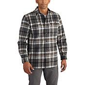Carhartt Men's Hubbard Plaid Long Sleeve Shirt