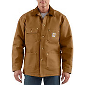 Carhartt Men's Duck Chore Blanket-Lined Coat