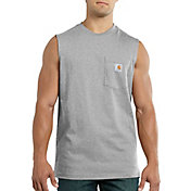 Carhartt Men's Workwear Sleeveless Pocket Shirt