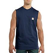 Carhartt Men's Workwear Sleeveless Pocket Shirt