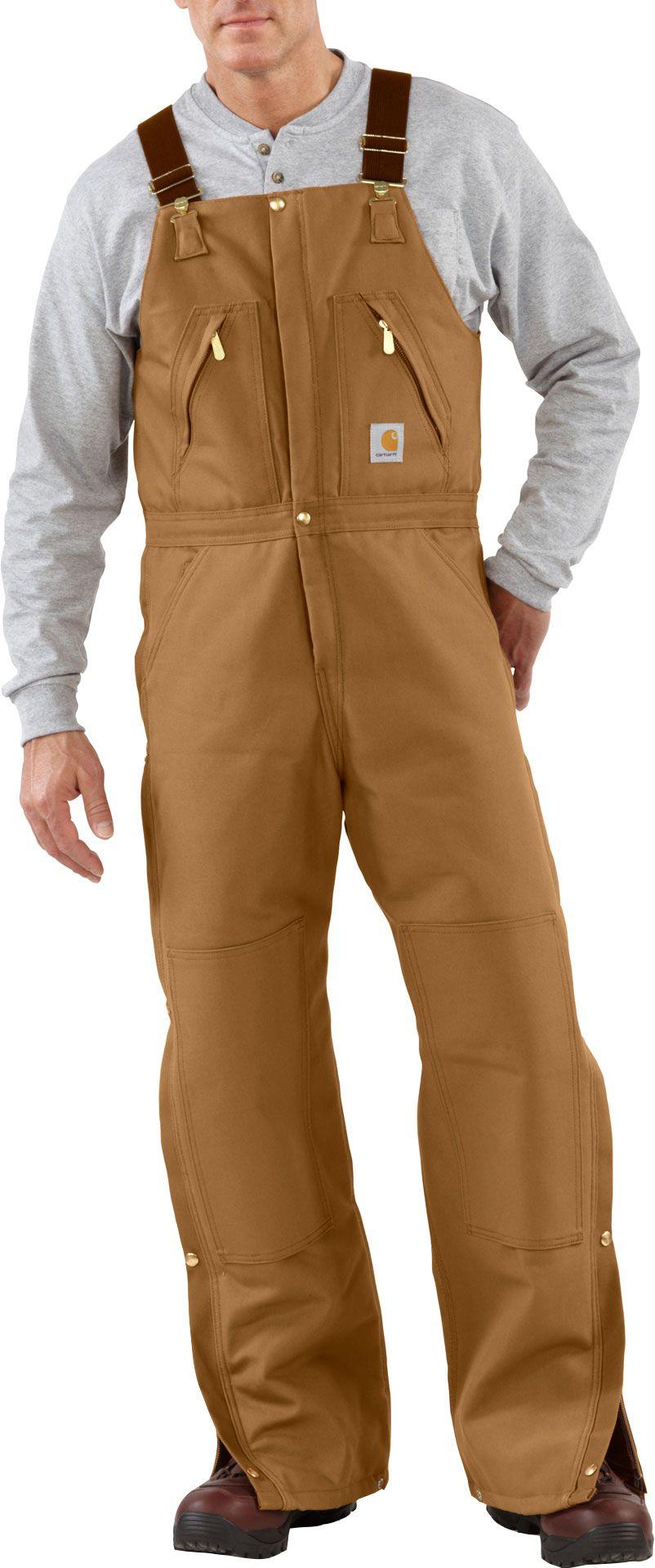 Carhartt Men's Zip-To-Waist Quilt Lined Duck Bib Overalls | DICK'S ... : carhartt quilt lined duck bib overalls - Adamdwight.com
