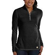 Carhartt Women's Force Performance Quarter Zip Shirt