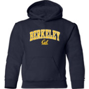 Old Varsity Brand Youth California Golden Bears Blue Layer Hoodie