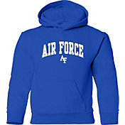 Old Varsity Brand Youth Air Force Falcons Blue Layer Hoodie