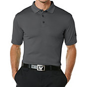 Callaway Men's Big & Tall Solid Golf Polo
