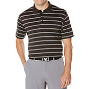 Callaway Men's Big & Tall Stripe Golf Polo