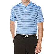 Callaway Men's Big & Tall Stripe Golf Polo