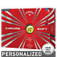 Callaway Chrome Soft Yellow Personalized Golf Balls