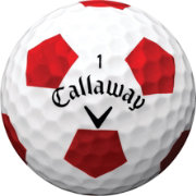 Callaway Chrome Soft X Truvis Red Golf Balls - Prior Generation