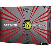 Callaway Chrome Soft X Yellow Golf Balls