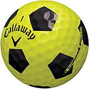 Callaway Chrome Soft Truvis Yellow Golf Balls – 3-Pack