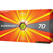 Callaway Superhot 70 Yellow Golf Balls – 15 Pack