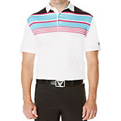 Callaway Striped Golf Polo