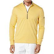 Callaway Men's Waffle Fleece Quarter-Zip Golf Pullover