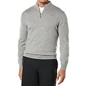 Callaway Men's Wool Quarter-Zip Golf Sweater - Big & Tall