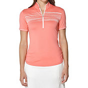 Callaway Women's Mock Neck Golf Polo