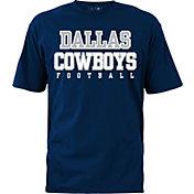 Dallas Cowboys Merchandising Men's Practice Navy T-Shirt