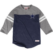Mitchell & Ness Men's Dallas Cowboys Start of Season Navy Henley Shirt