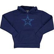 Dallas Cowboys Merchandising Youth Hatfield Navy Pullover Hoodie