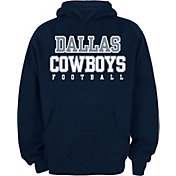 Dallas Cowboys Merchandising Youth Practice Navy Hoodie