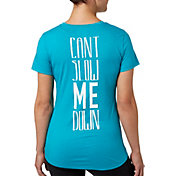 Reebok Women's Can't Slow Me Down Graphic T-Shirt
