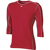 DeMarini Boys' CoMotion Mid-Sleeve Baseball Shirt