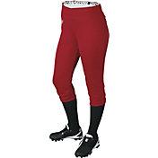 DeMarini Girls' Sleek Pull-Up Softball Pants