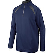 DeMarini Men's Heater Fleece Baseball Half-Zip