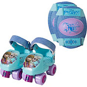 Disney Frozen Girls' Roller Skates and Knee Pads