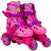 Disney Princess Girls' 2-in-1 Inline Skates