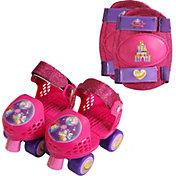 Disney Princess Girls' Roller Skates and Knee Pads