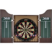 DMI Sports Deluxe Bristle Dartboard Cabinet Set