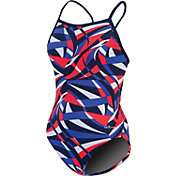 Dolfin Girls' Viper V Back Swimsuit