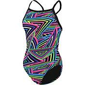 Dolfin Women's Razzle Print Racerback Swimsuit